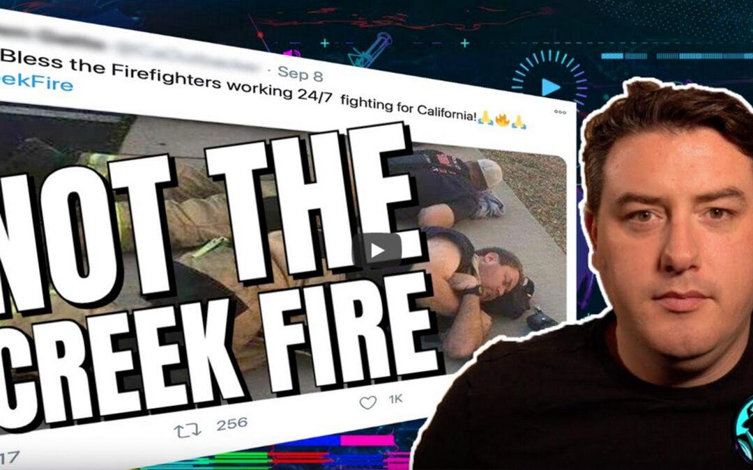 California's Creek Fire